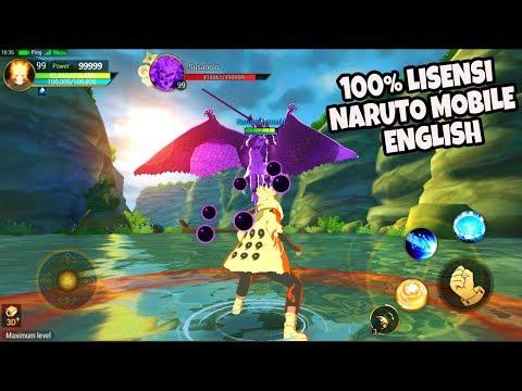 TERBAIK TERKEREN!! NARUTO SLUGFEST ANDROID GAMEPLAY MMORPG BATTLE