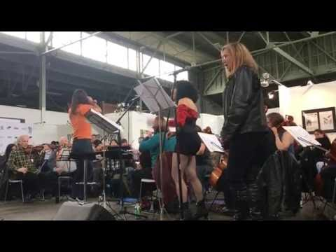 The Awesöme Orchestra performs 'Nazi Punks F**k Off' (Dead Kennedys)