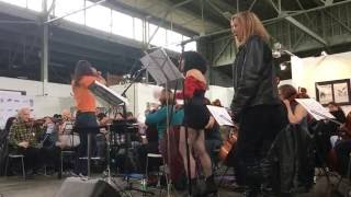 The Awesöme Orchestra performs