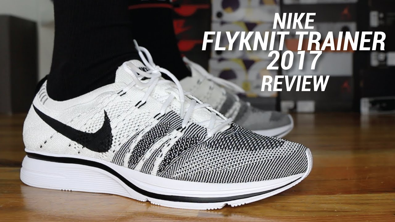 new style 0691b e3c32 NIKE FLYKNIT TRAINER 2017 REVIEW - YouTube