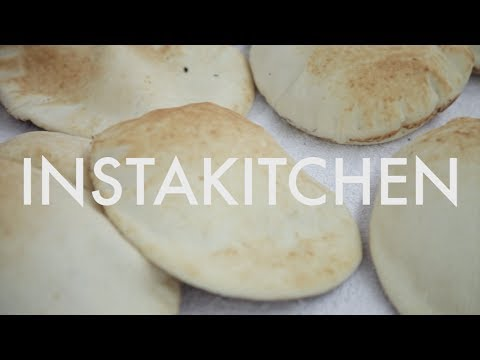 Freshly Baked Pita At Pita Bakery In Singapore | Instakitchen E4 | Coconuts TV
