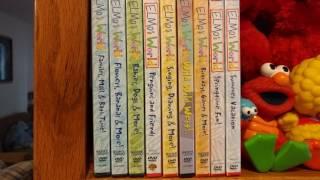 sneek peek of kiana s elmo s world dvd collection