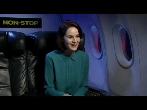 "Michelle Dockery: ""No one in Downton Abbey has been type-cast"" Non-Stop Interview"