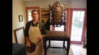 Antique Chair Repair And Restoration