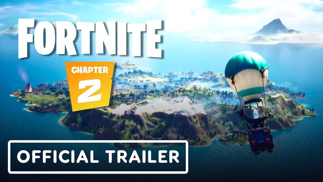 Fortnite Capítulo 2 - Trailer cinematográfico + vídeo