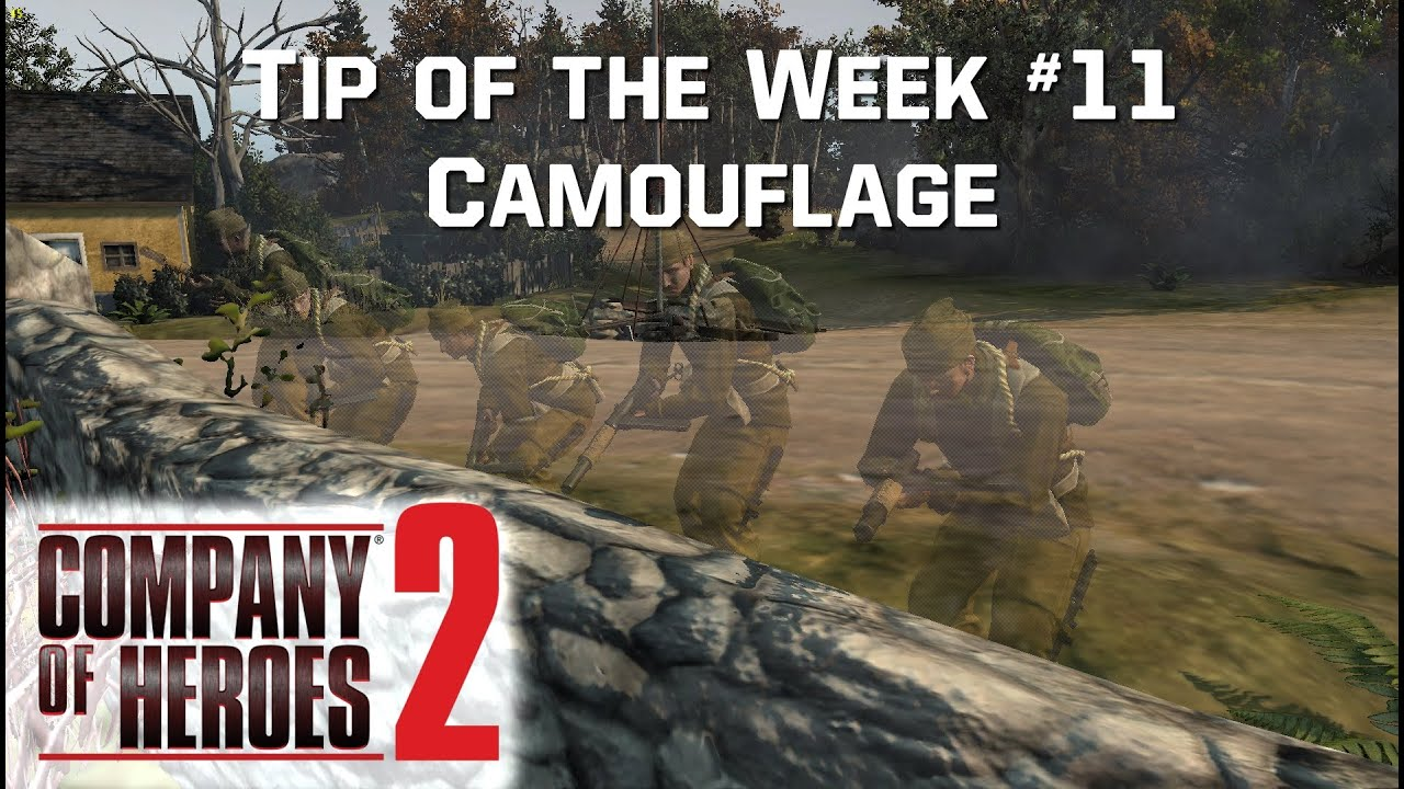 Tip of the Week #11 - Camouflage - COH2 ORG