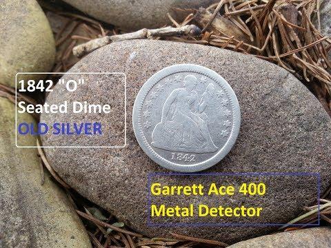 "Ohio Treasure Hunting 1842 ""O"" OLD SILVER Metal Detecting"