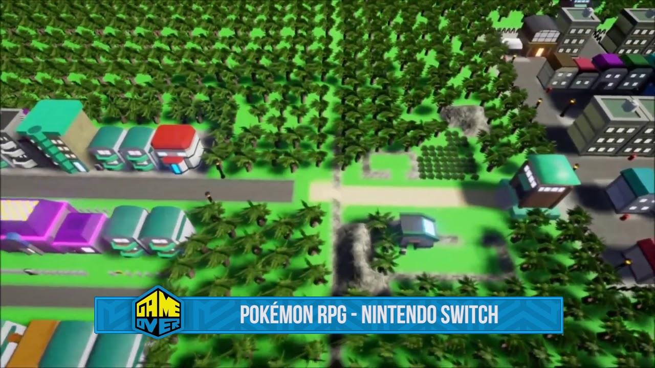 Pokémon Rpg Para Nintendo Switch Youtube
