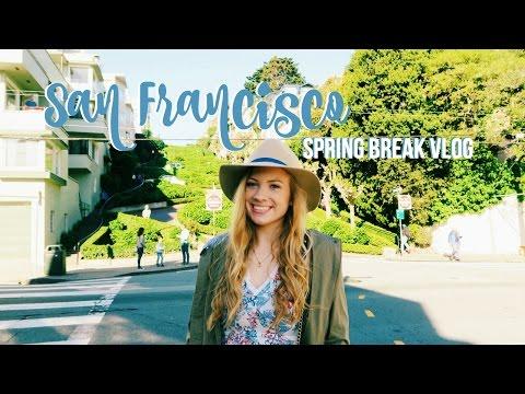 SAN FRANCISCO VLOG! (Spring Break)   Lottie Smalley