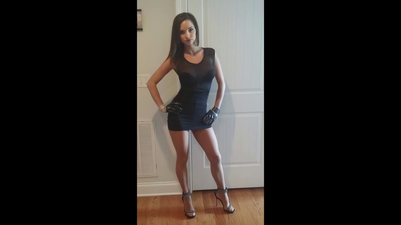 Sexy Girls in High Heels and Super Tight Dresses ! HD