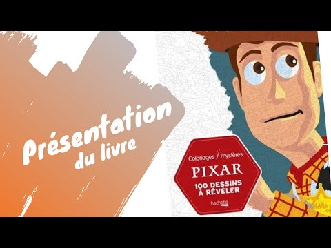 Review Pixar Coloriages Mysteres Presentation Du Livre De