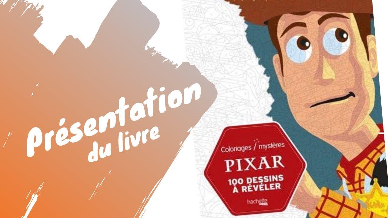 Review - Pixar Coloriages Mystères - Présentation du livre de coloriages