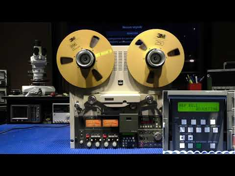 Otari MTR 15 auto calibration procedure