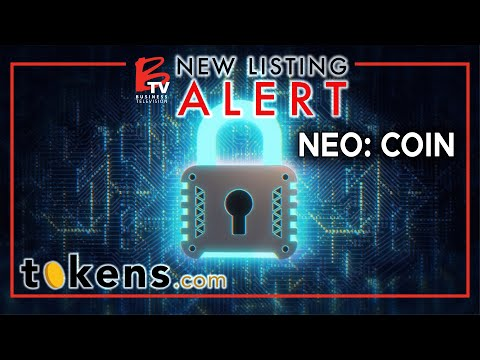 New Listing Alert: Tokens.com (NEO: COIN) | Now listed on the NEO Exchange