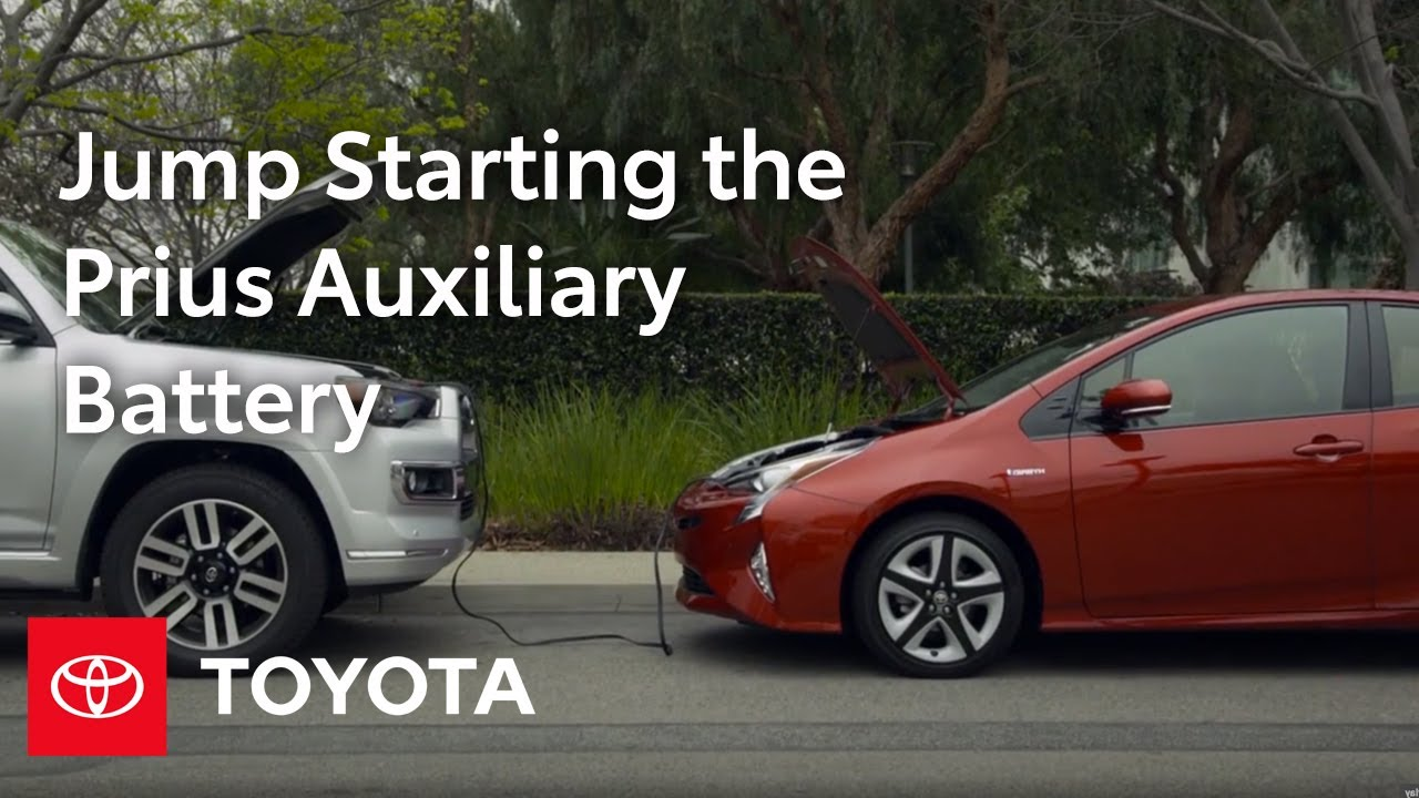 Toyota How To Prius Auxiliary Battery Location And Jump Starting