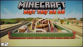 Minecraft Nhà Đá Đỏ #2 : Giải Đố Biệt Thự, Siêu Tầng Hầm Bá Đạo | ✔ MK Gaming