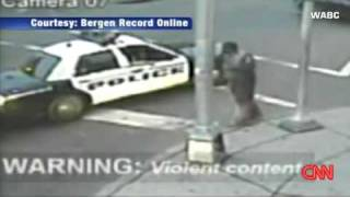police beat man for unzipped jacket nj police brutality