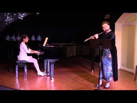 """М.Глинка, """"Жаворонок"""". Исп. Е. Исаева (флейта), К.Коротченко (фортепиано)"""