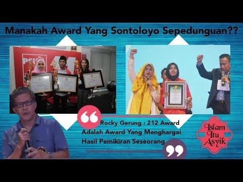 Bandingkan Kebohongan Award PSI VS 212 Award, Manakah Award Yang Sontoloyo Sepedunguan??
