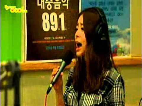"""July2011 (Radio Live Danny radio show): Hwayobi """" Bye Bye Bye"""""""