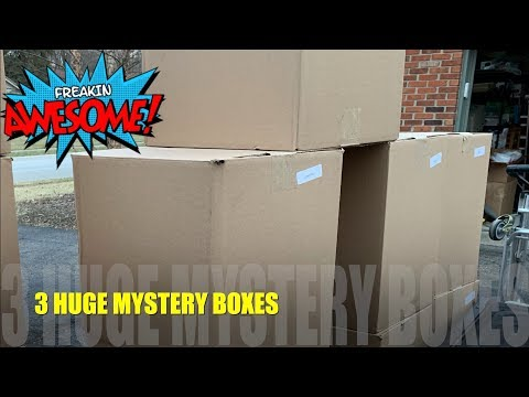 I Paid $176 for a $1546 Amazon Customer Returns Pallet With 3 HUGE Mystery Boxes