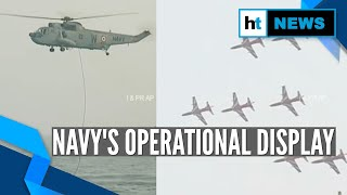 NavyDay: Indian Navy's prowess on display, Andhra CM attends