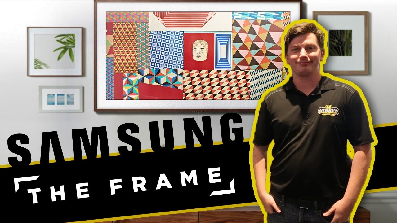 How To Samsung The Frame Smart Tv Art Frame Unboxing