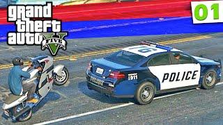 GTA V - Piloto de Fuga: Perseguição Policial