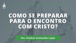 Rev. Rosther Guimarães Lopes - Culto Matutino - 27/12/2020