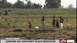 ACHIEVING SELF SUFFICIENCY IN RICE PRODUCTION