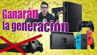 Por qué Xbox One X no podrá ganar a PS4 o Nintendo Switch | Qenk Teorías