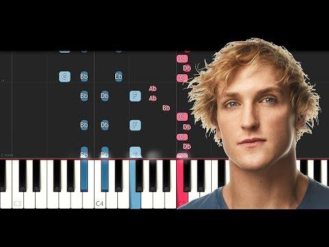 Logan Paul - The Number Song (Piano Tutorial)