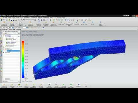 Nx Nastran Static Structural Analysis