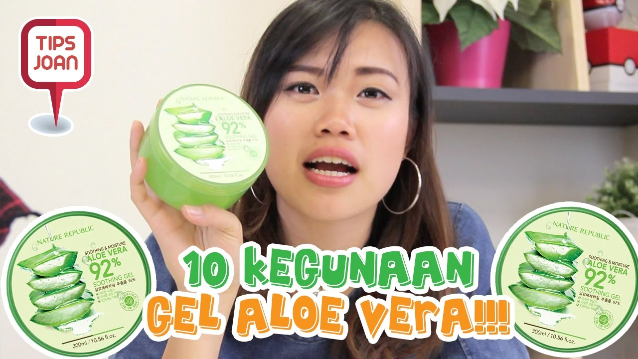 10 Kegunaan Gel Aloe Vera Tips Nihao Youtube