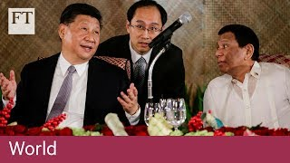 China, Philippines deepen ties in South China Sea