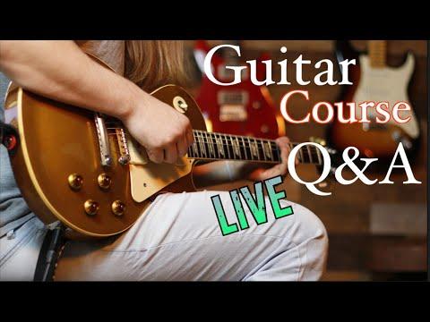 Guitar Course Live Q&A and Jam!