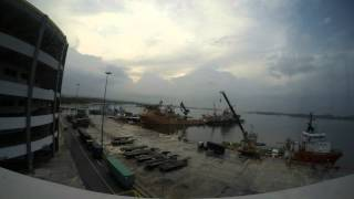 GoFay - Time Lapse @ Loyang Offshore Supply Base 20/3/2014
