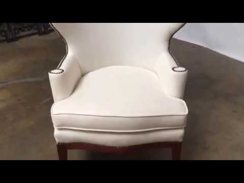 Mid Century Wing Chair by Edward Wormley for Dunbar