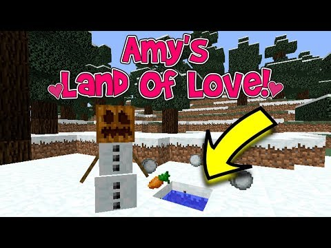 THE MELTED SNOWMAN?! | Amy's Land Of Love! Ep.189