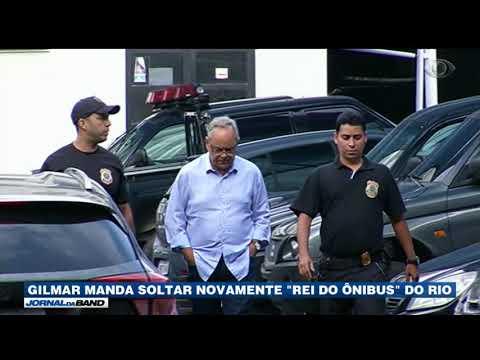 Gilmar Manda Soltar Novamente Rei Do ônibus Do RJ