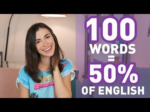 100 MOST COMMON ENGLISH WORDS