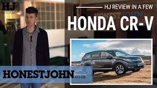Car review in a few | 2019 Honda CR-V Hybrid - big, bold and almost brilliant