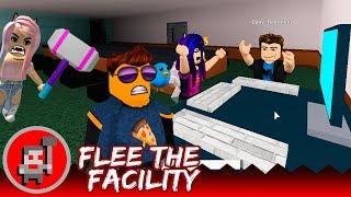 ¿EL TEAM MÁS PRO? 😎 |🔨| Flee the Facility con Mia Zaff, Fritosaurio y Dany |🔨| ROBLOX