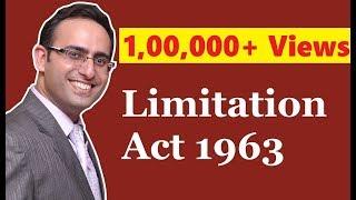 Limitation Act 1963 (Part-1)