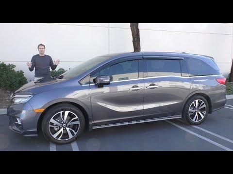 Here's a Tour of a $50,000 Honda Odyssey Minivan