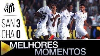 Santos 3 x 0 Chapecoense | MELHORES MOMENTOS | Brasileirão (03/07/16)