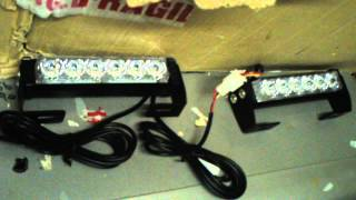 12 Led Shelf / Dash Bar With Multi Patterns