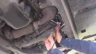 Peugeot P0054 O2 Sensor Diagnose Replace Guide