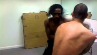 nile ranger vs leon best having a scrap