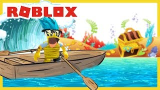 ROBLOX INDONESiA | BOAT Ride For The Sake of TREASURES in FRONT of the EYES??